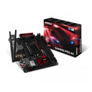 MSI Z170I GAMING PRO AC / Intel® Z170 / Socket 1151 / Wi-Fi 802.11 ac / mITX