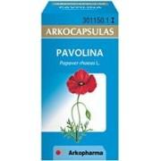 Arkocápsulas pavolina (amapola)