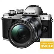 Olympus OM-D E-M10 Mark II srebrny + ob. 14-150 czarny Dostawa GRATIS!