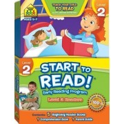 Start to Read! Early Reading Program - Level 2 Readers