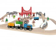 Hape Double Loop Railway Set E3712