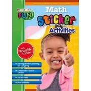 Preschool Fun - Math Sticker Activities by Popular Book Company