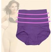 ER caderas abdomen ropa interior de escultura corporal-púrpura