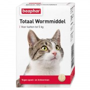 Beaphar Wormmiddel Totaal kat 10 tabletten