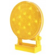 Girofar directional LED cu baterii si prindere magnetica