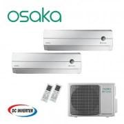 Aer conditionat dublu split Osaka 9000 + 12000 BTU OHW2E18M