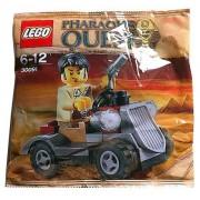 LEGO Pharaohs Quest: Rover Del Desierto Establecer 30091 (Bolsas)