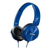 Philips SHL3060BL/00 On-Ear DJ Style Monitoring Headphones (Blue)