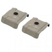 Plaquette cavalier pour plaque acier nervurée (x25) / Beige
