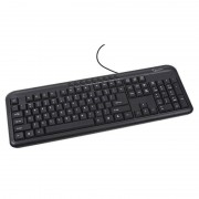 Tastatura Gembird KB-UM-101 Multimedia USB Black RU layout
