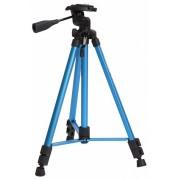 Rollei Fotopro DIGI 9300 stand cu cap 3D + geantă (albastru)