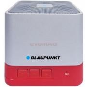 Boxa Portabila Blaupunkt BT02RD, Bluetooth, FM Radio, USB, MicroSD (Alb/Rosu)