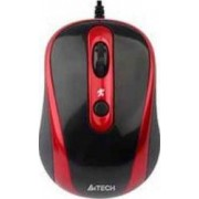 Mouse A4Tech N-250X-2 V-track Padless USB Black.Red