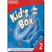 Kid's Box American English Level 2 Audio CDs (4) by Caroline Nixon