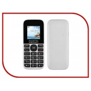 Сотовый телефон Alcatel OneTouch 1016D Pure White