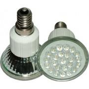 LED izzó 24 LED 230V E14