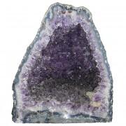Mineral geoda amatista ÉBANO [4486]