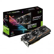 Asus GeForce GTX 1060 STRIX-GTX1060-O6G-GAMING, 6 GB GDDR5, Nero