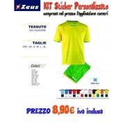 Zeus - Completo Calcio Kit Sticker Personalizzato