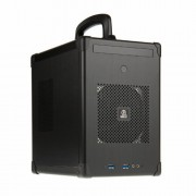 Lian Li PC-TU100B Mini-ITX Cube - Nero