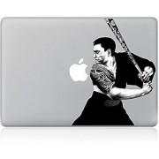 JMM - Japanese Samurai Design Pattern Laptop Notebook Skin Sticker Cover Vinyl Art Decal for 11 inch Apple Macbook Air