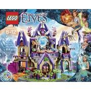 Elves LEGO 808 PCS Skyra's Mysterious Sky Castle Bike Box Building Toys by LEGO