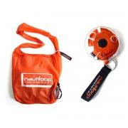 DNS-Design DNS Design - Nautiloop, die aufwickelbare Tasche, transparent-orange