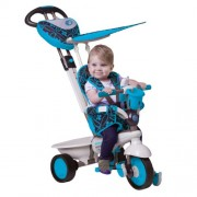 Vital Innovations - Passeggino a triciclo per bambini Smart Trike Dream Touch - colore: Blu
