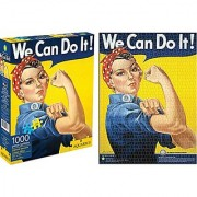 Aquarius Smithsonian Rosie the Riveter Puzzle (1000 Piece)