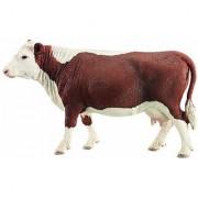 Schleich Hereford Cow Toy Figure