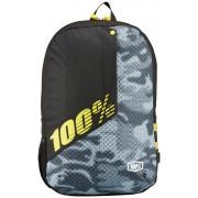 100% Porter fietsrugzak geel/zwart 2017 Schooltassen