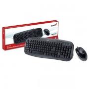 Kit tastatura si mouse KYE KM-210 USB Wird KB+Mouse Combo Multimedia keyboard
