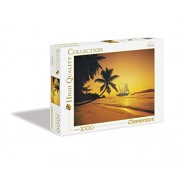 Clementoni - 39235.3 - Puzzle Collection High Quality - 1000 Pièces - Coucher de Soleil aux Seychelles