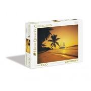 Clementoni 39235 - Puzzle Seychelles Sunset, Collezione Alta Qualità, 1000 Pezzi