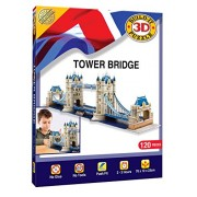 London Tower Bridge 3D Jigsaw Puzzle [Import Inglese]