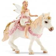 Vrouwelijke lelie-elf op pony Schleich 70501
