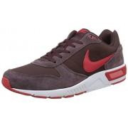 Nike Nightgazer, Zapatillas de Running para Hombre, Marrón / Rojo / Blanco (Mahogany / University Red-White)