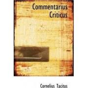 Commentarius Criticus by Cornelius Annales B Tacitus