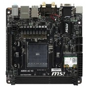 MSI A88XI AC V2 Carte mère AMD Mini ITX Socket FM2+