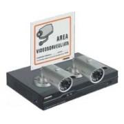 > Kit TVCC DVR con LAN e 2 telecamere