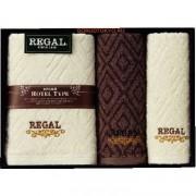 """Honda Towel Набор полотенец в подарочной упаковке """"Regal"""": 60х120 см. - 1 шт., 34х80 см. - 2 шт."""