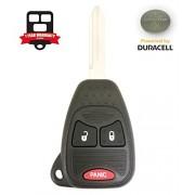 Remote Store New Uncut 3 Button 2007-2017 Jeep Remote Head Key FCC: OHT692713AA