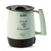Solac CH6301 Milk & Chocolate - Calientaleches/chocolatera (Capacidad de 1 L, filtro anti-nata)