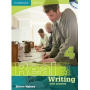 Cambridge English Skills Real Writing 4 with Answers and Audio CD: Level 4 by Simon Haines