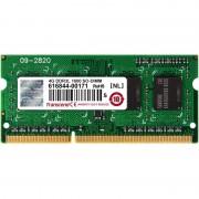 SODIMM, 4GB, DDR3L, 1600MHz, Transcend, Low Voltage, 1.35V (TS512MSK64W6H)