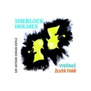Sherlock Holmes VyděračŽlutá tvář - CD(Arthur Conan Doyle; Jiří Samek; Václav Neužil; Mil)