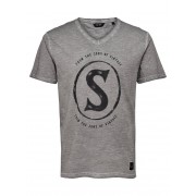 ONLY & SONS Printed T-shirt Man Grå