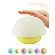 TFSeven Baby Night Lights Tumbler Mushroom Touch Sensor Dimmable LED Night Light With 7 Colorful Portable Silicone Sen