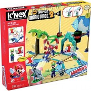 K'NEX Super Mario - Construction Set Beach Deluxe, 161 pezzi (41013 Toy Factory)