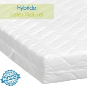 Matelas hybride latex naturel 80x200 - Novonatura
